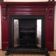 roughcast fine fireplace insert